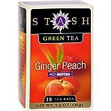 Stash Tea Ginger Peach Green W/ Matcha – 18 Tea Bags – Case Of 6 Review