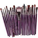 Susenstone®20 pcs/set Makeup Brush Set (Purple)