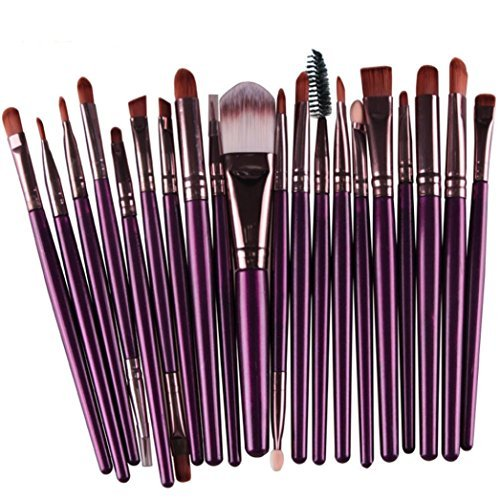 Susenstone®20 pcs/set Makeup Brush Set (Purple)