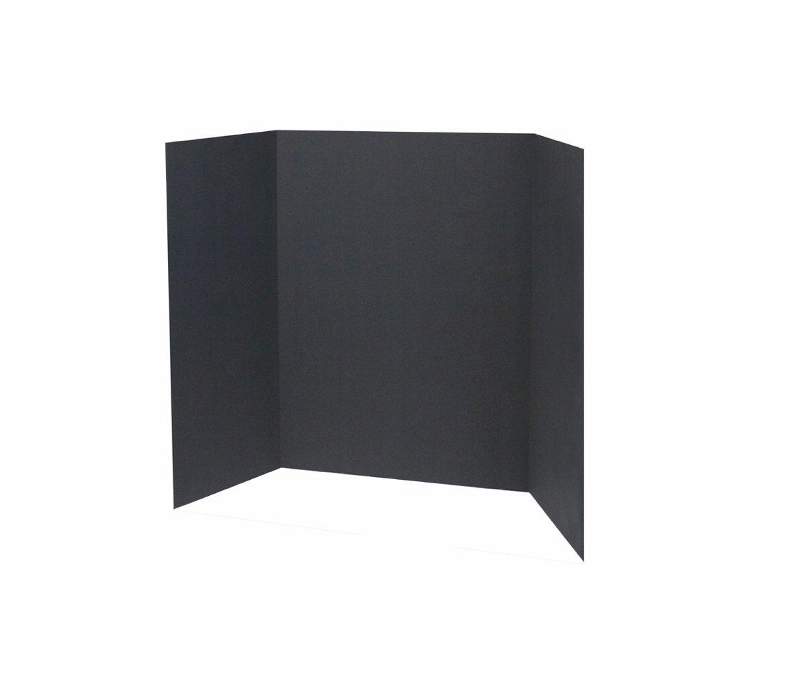 Readi- Board Display Board, 36 Inch x 48 Inch Black 18 Count (8018)