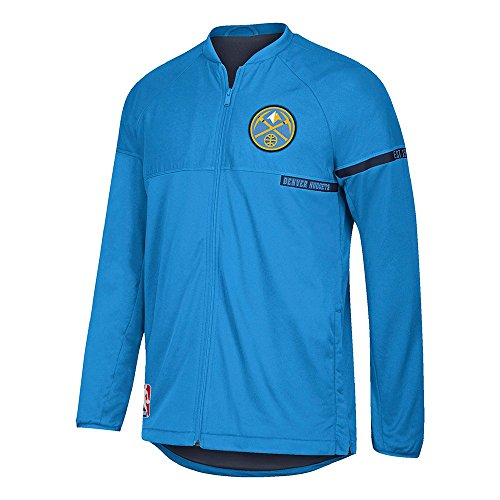 Denver Nuggets Adidas On Court Warm Up Jacket: Denver Nuggets Varsity Jacket, Nuggets Letterman Jacket