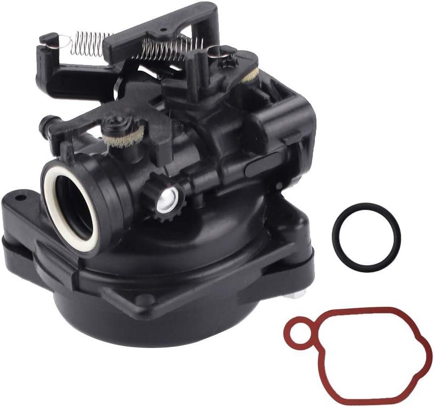 Hilom 799584 Carburetor for Briggs /& Stratton 09P702 9P702 550EX 625EX 675EX 725 EXI 140cc Engines Troy-Bilt TB110 Carb Lawn Mower with 593260 Air Filter
