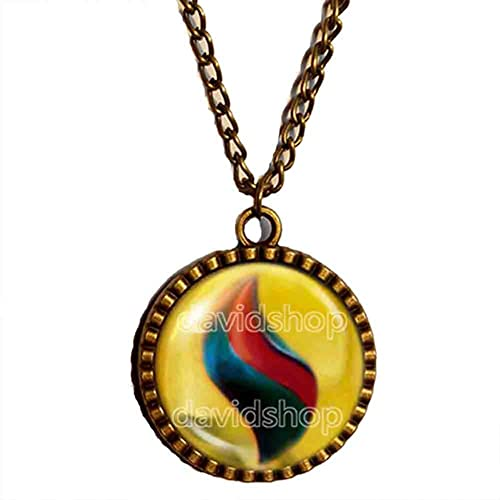 Amazon Pokemon Gyaradosite Mega Stone Necklace Symbol Pendant