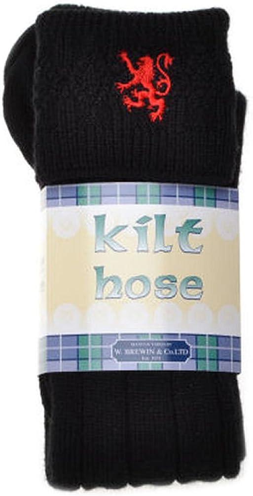 Mens Gleann Righ Stag Wool Kilt Hose Socks Made In Scotland All Sizes