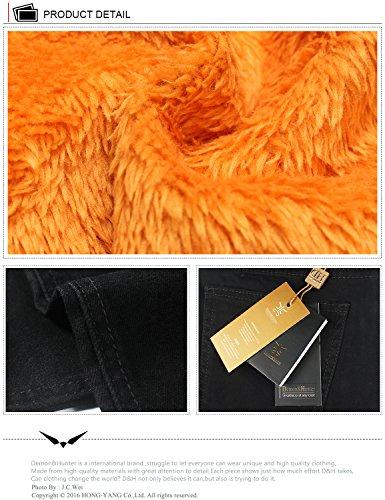 Jeans nero Gioventù Di vello Stretti 808 8020x1 Serie Elasticizzato amp;hunter Demon Uomo Da nP0RCC