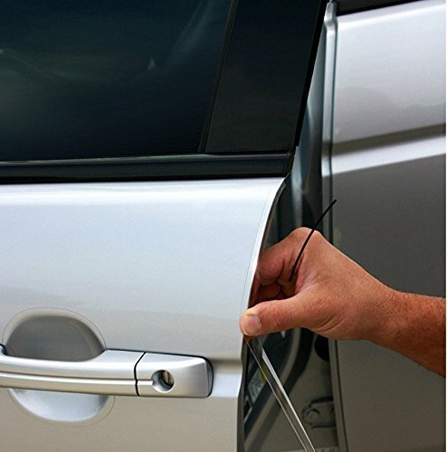 Upromax 40 YD Roll Door Edge Guard Clear Car Paint Chip Squeegee Scratch Protection Trim Scotchgard 3m