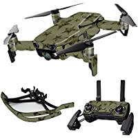 MightySkins Skin for DJI Mavic Air Drone - Army Star   Max Combo Protective, Durable, and Unique Vinyl Decal wrap cover   Easy To Apply, Remove, and Change Styles   Made in the USA