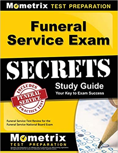 Funeral Service Exam Secrets Study Guide Funeral Service
