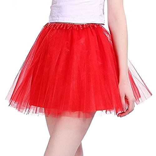 Sparkle Lined Skirt - Black Friday Deals Cyber Monday Deals Week Tutu Skirt, Women's 50s Vintage Petticoat Party Accessory Tutu Skirt Princess Dresses Sparkle Halloween Ballet Bubble Skirts Red