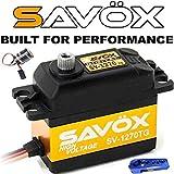#3: Savox SV-1270TG Digital Monster Torque Titanium Gear Servo High Voltage + Powerhobby Glitch Buster + Aluminum Horn