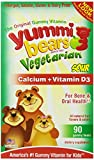 Hero Nutritional Products - Hero Nutritional Products Yummi Bears Vegetarian Calcium with Vitamin D - Fruit Flavors - 90 Ct