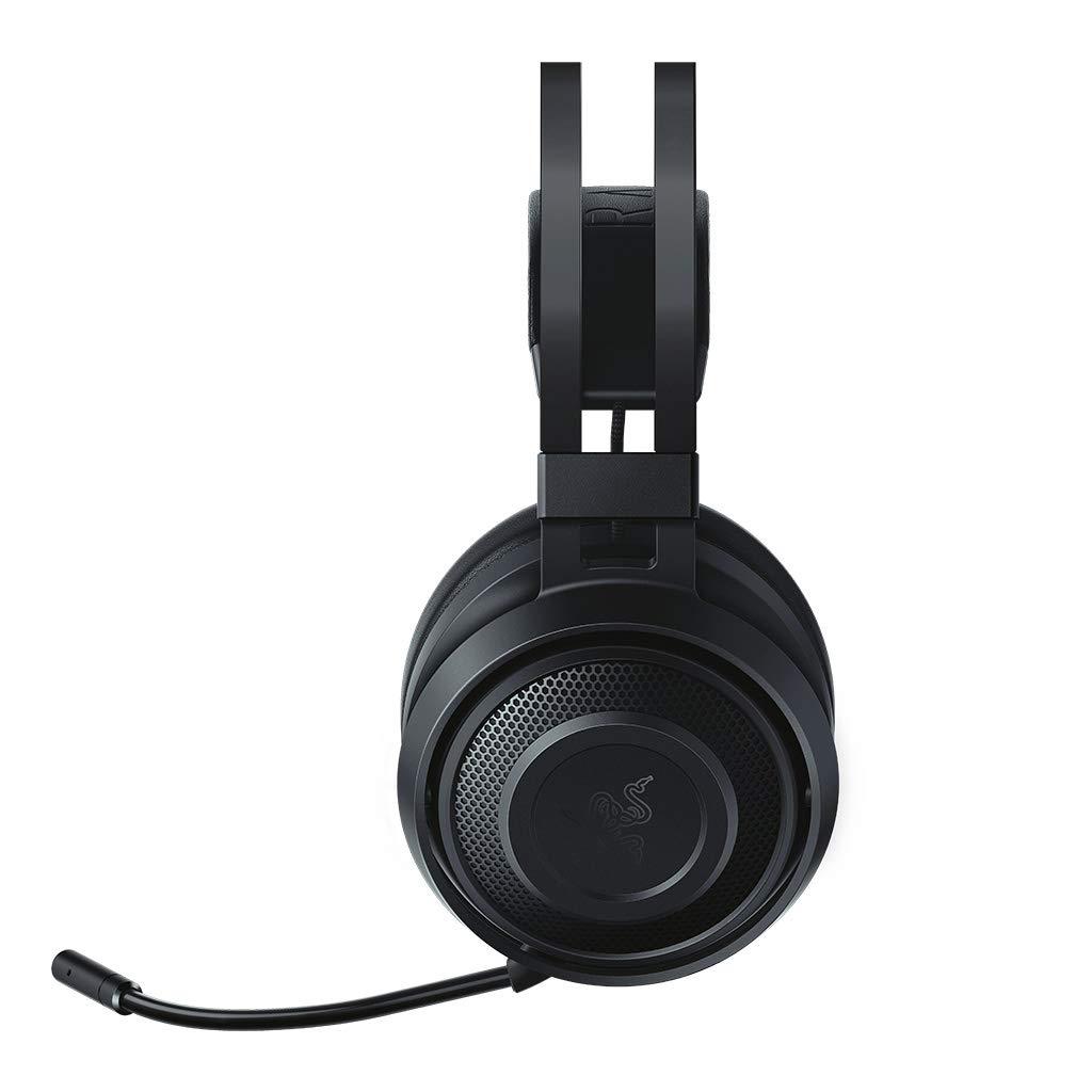 Razer Nari Essential: THX Spatial Audio - 2.4GHz Wireless Audio – Auto-Adjusting Headband – Gaming Headset Works with PC, PS4, Xbox One, Switch, Mobile Devices Razer USA Ltd RZ04-02690100-R3U1