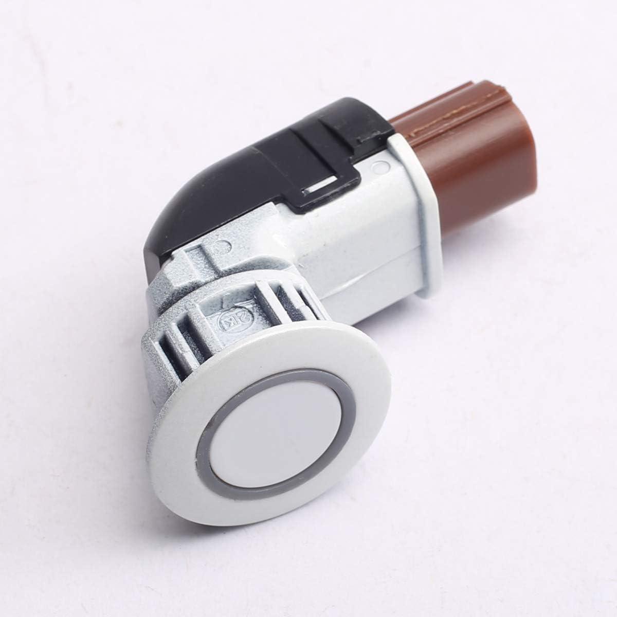 PeakCar 39680-SHJ-A61 PDC Parking Assist Sensor 39680-SHJ-A61-A0 Replacement for 2005-2010 Honda Odyssey 2004-2013 CRV White