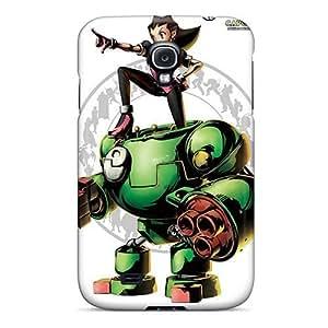 Cute Tpu Mialisabblake Marvel Vs Capcom Tron Bonne Case Cover For Galaxy S4