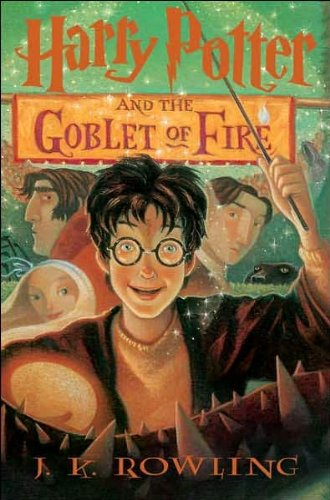 Harry Potter and the Goblet of Fire (text only) 1st (First) edition...