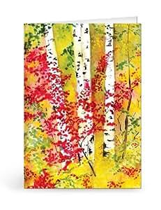 Birches II Notecards