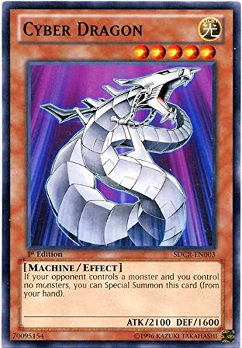 Yu-Gi-Oh! - Cyber Dragon (SDCR-EN003) - Structure Deck: Cyber Dragon Revolution - 1st Edition - Common