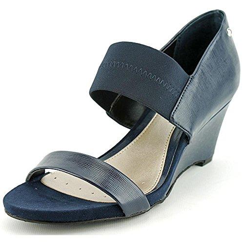 vestir Sandalias oscuro de azul mujer Alfani para qpB4ExqwU