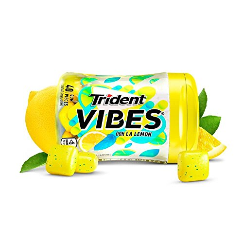 Trident Vibes Ooh La Lemon Sugar Free