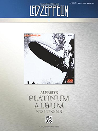 Led Zeppelin -- I Platinum Bass Guitar: Authentic Bass TAB (Alfred's Platinum Album Editions) pdf