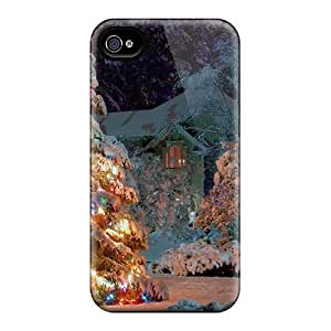 Premium Outdoor Christmas Tree Heavy-duty Protection Cases Ipod Touch 4