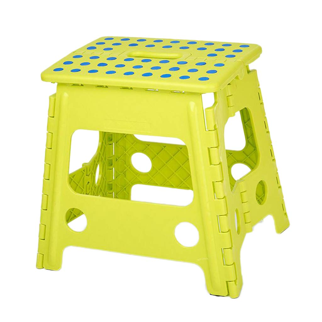 Blue B Blesiya Anti Slip Step Stool Plastic Bench for Kids Travel Outdoors Kitchen Bathroom