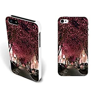 Various Kinds Stylish Graphics Custom Design Iphone Case Cover for Iphone 5/5s Hard Plastic Cell Phone Case Skin Protector (cool tree street BY408)