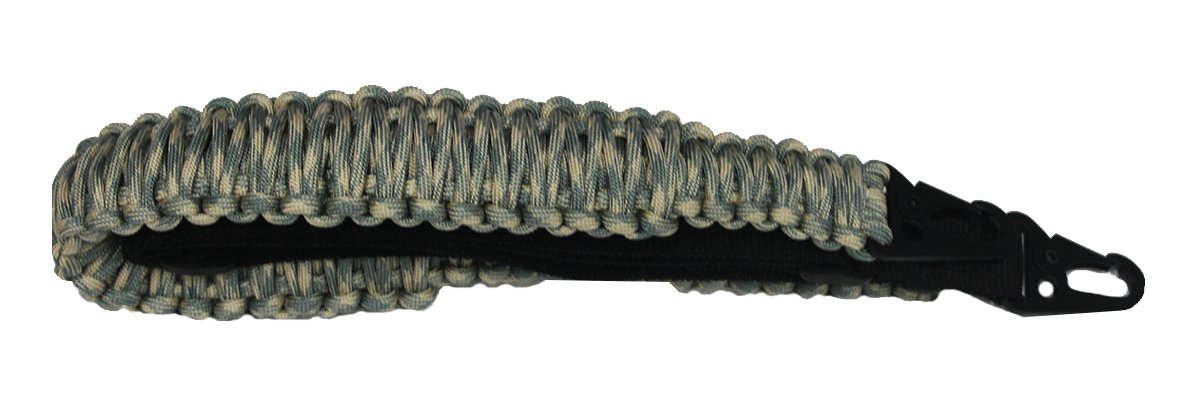 Ultimate Arms Gear 550 lb Paracord Survial Shoulder Harness Strap Sling, ACU Army Digital Camo Over 56' ft Parachute Cord with Hooks for AR15 AR-15 M4 M-4 M16 M-16 by Ultimate Arms Gear (Image #4)