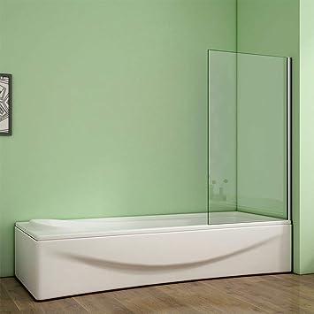 Aica - Mampara de ducha fija sobre bañera: Amazon.es: Bricolaje y herramientas