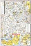 36x54 Alabama State Official Executive Laminated Wall Map