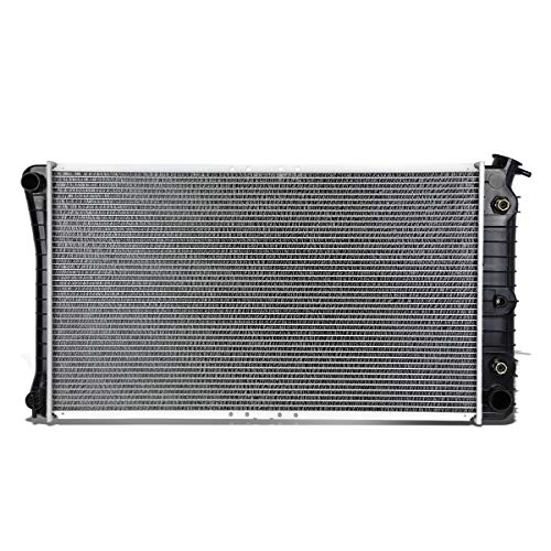 DNA Motoring OEM-RA-1202 Aluminum Core Radiator (For 86-99 Oldsmobile 98/Buick Riviera 3.8 AT)