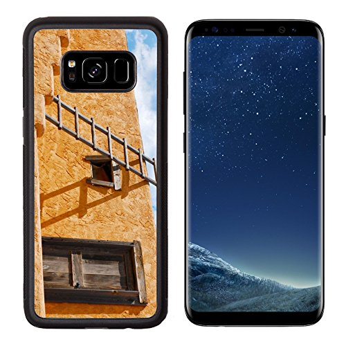 Liili Premium Samsung Galaxy S8 Aluminum Backplate Bumper Snap Case Ladder on a Southwest style stucco building in New Mexico Photo 5582368 Simple Snap Carrying