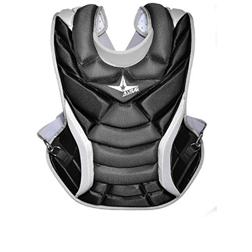 All-Star Vela Professional Fastpitch 14.5'' Chest Protector Black by All-Star