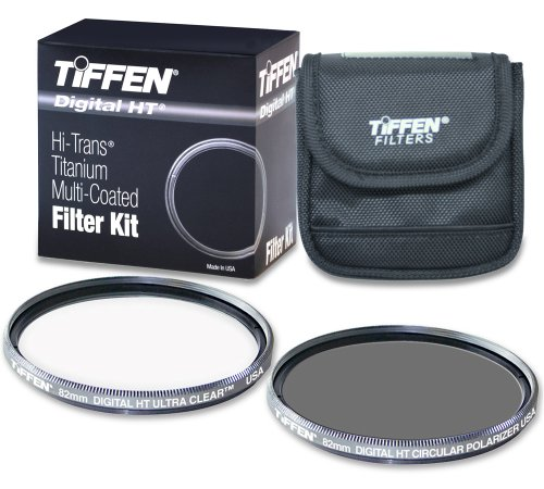 Tiffen 82HTPTP 82MM Digital HT Twin Pack with Ultra Clear and Circular Polarizer