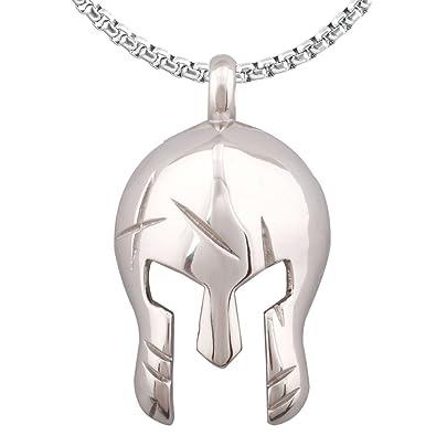 Amazon.com: Spartan Máscara Warriors Romano Gladiator casco ...