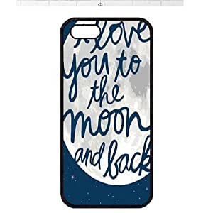 Case For Sam Sung Galaxy S4 I9500 Cover ,fashion durable black side design phone case, pc material phone cover ,with Design art words .