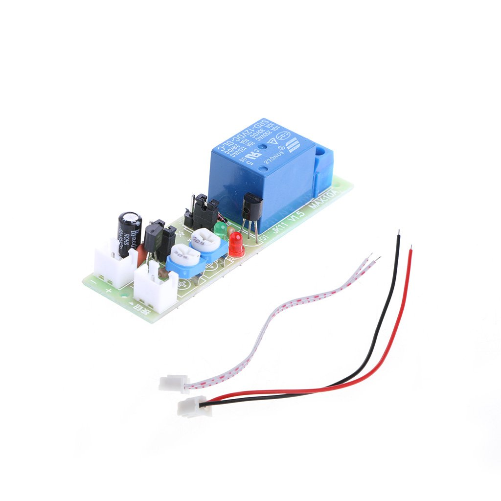 Timer Relay 12v Dc Infinite Cycle Delay Timing On Off Trigger Switch Loop Module Aixia 1a40537 Electrical Tools Home Improvement Tibs