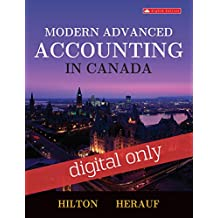 Connect with Smartbook Access Card for Modern Advanced Accounting in Canada