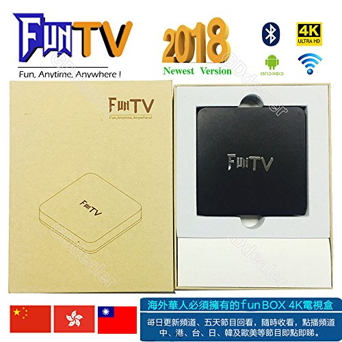 GD 2018 Newest FUNTV Box Chinese HK Taiwan live tv+Free wireless Bluetooth4.2 sport Earphones!!!