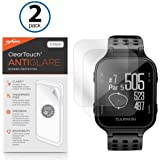 Garmin Approach S20 Screen Protector, BoxWave [ClearTouch Anti-Glare (2-Pack)] Anti-Fingerprint Matte Film Skin for Garmin Approach S20