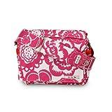 Ju Ju Be Be All Diaper Bag, Fuchsia Blossoms