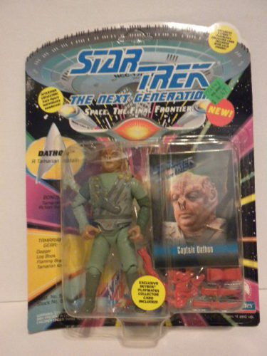 (Star Trek The Next Generation Captain Dathon 4 inch Action Figure)