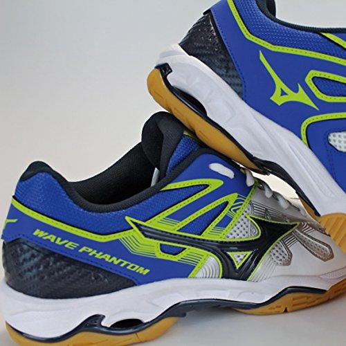 Chaussures Mizuno Wave Phantom blanc/bleu/jaune