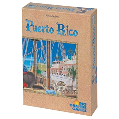 Puerto Rico Game: Toys & Games