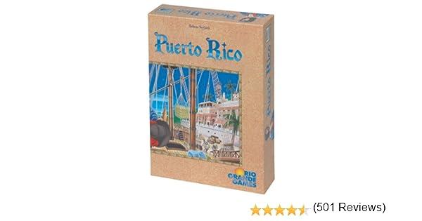 edici/ón inglesa Juego de mesa Puerto Rico sobre administraci/ón de posesiones Rio Grande Games 195
