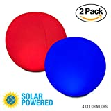 """12"""" Color-Changing Solar LED Ball by POP Design 