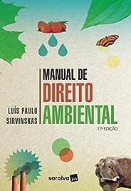 Manual de direito ambiental - 17ª edição de 2019