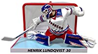"Henrik Lundqvist (New York Rangers) Goalie with Net 6"" Figure ONLY 1850"
