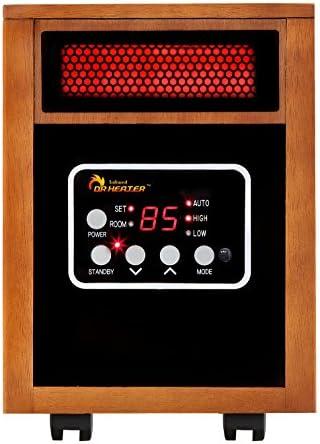 Dr DR968 Quartz Plus PTC Infrared Portable Space Heater