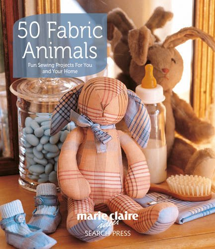 50 Fabric Animals: Fun Sewing Projects for You and Your Home (Easy Quilt Books compare prices)